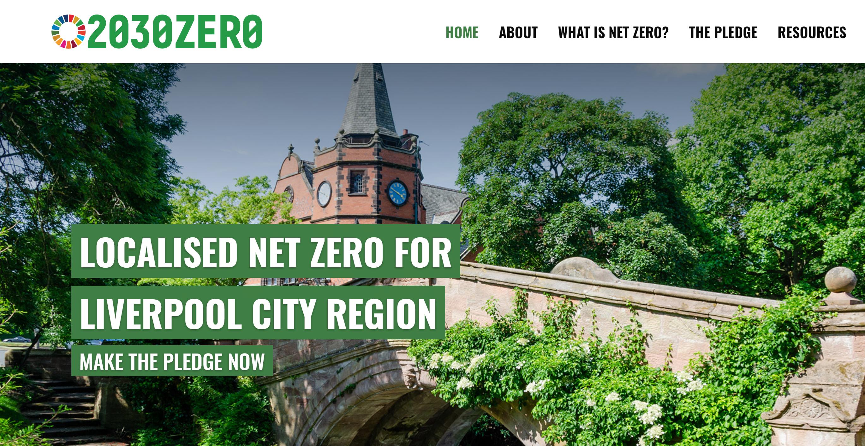 2030zero a Liverpool City Region net zero campaign