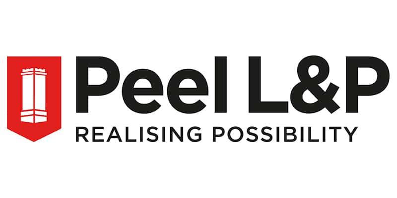 Peel LP Logo WITH STRAPLINE FULL COLOUR
