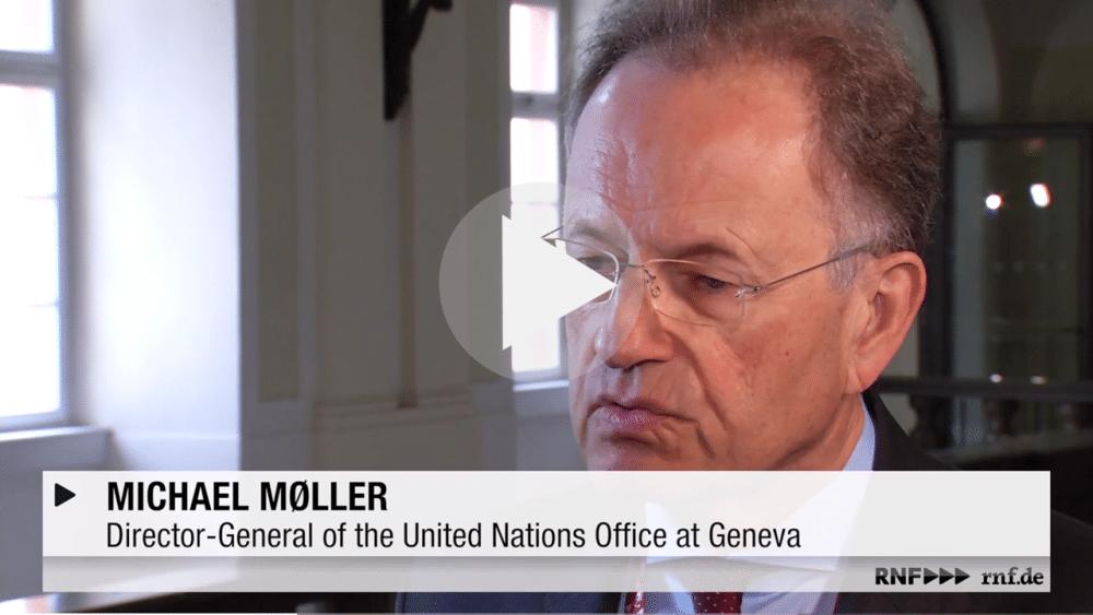 Michael Moller UN Director General Heidelberg SDG Cities Apr 2018 video